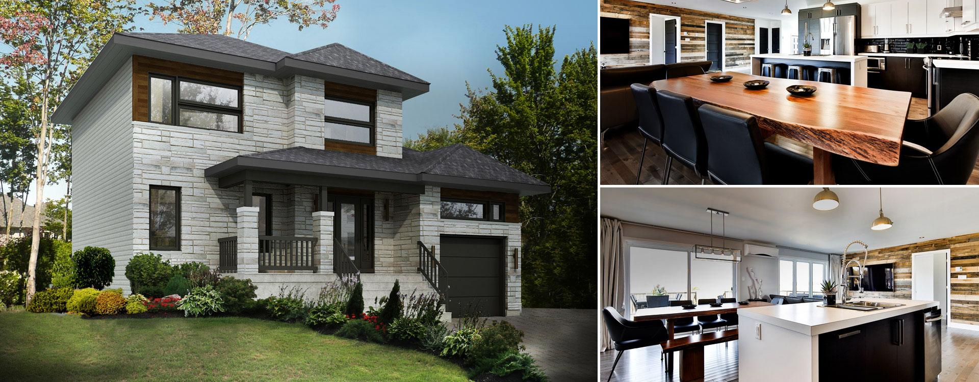 Maisons neuves vendre rive sud de montr al chambly for Habitation neuve