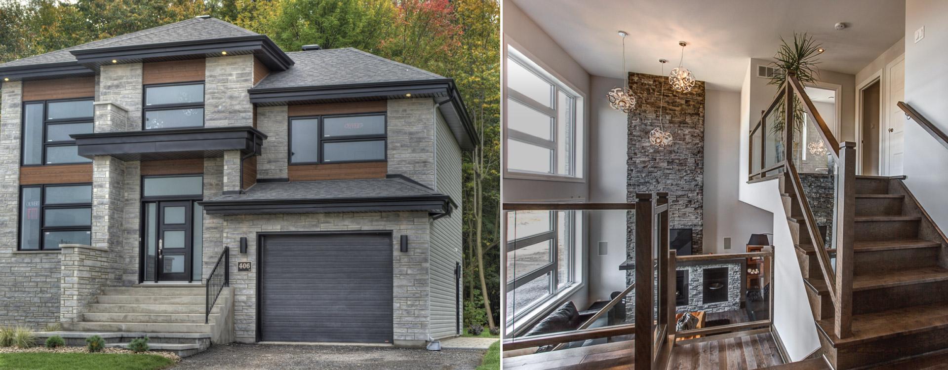 Maisons neuves vendre rive sud de montr al chambly et for Habitation neuve
